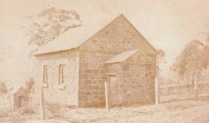 Original Church before additions